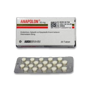 Anapolon 50 mg - Oxymetholone - Abdi Ibrahim, Turkey