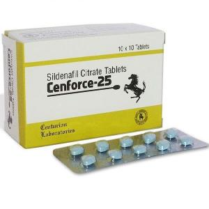 Cenforce 25 mg  - Sildenafil Citrate - Centurion Laboratories