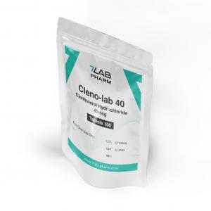 Cleno-Lab 40 - Clenbuterol - 7Lab Pharma, Switzerland