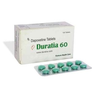 Duratia 60 mg  - Dapoxetine - Fortune Health Care