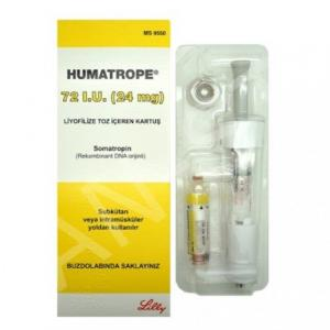 Humatrope 72iu (24mg) - Somatropin - Lilly, Turkey