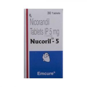 Nucoril 5 mg  - Nicorandil - Emcure Pharmaceuticals Ltd.