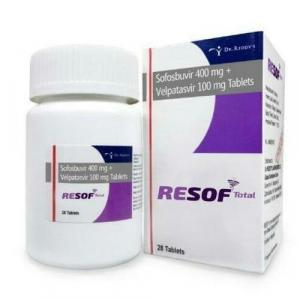 Resof Total 400 /100 mg  - Sofosbuvir - Dr. Reddy`s